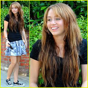 Miley Cyrus Has Fun Friends