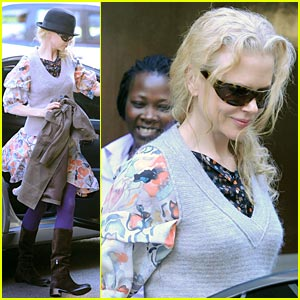 A Brief Encounter With Nicole Kidman