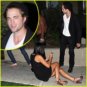 Robert Pattinson is Teddy's Trippin'