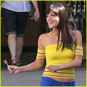 Selma Blair is a Lollipop Licker