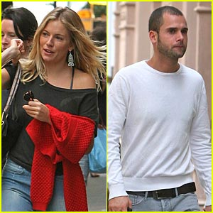Sienna Miller: New Mystery Male!