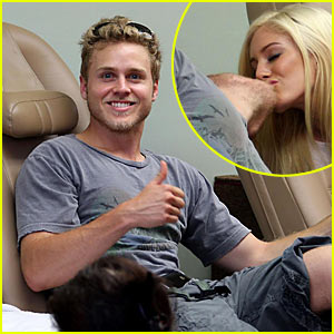 Spencer Pratt Gets First Manly Manicure