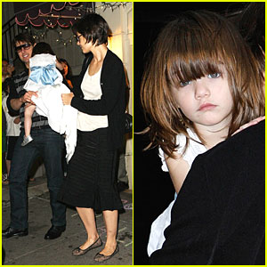 Suri Cruise Sips Alice's Tea Cup