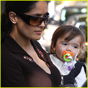 Valentina Pinault Plays With a Pacifier