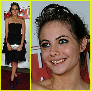 Willa Holland is a Heckler Hottie