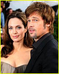 Brad and Angelina Have Inquisitive Kids