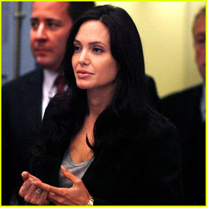 Angelina Jolie is Jonesing for Justice