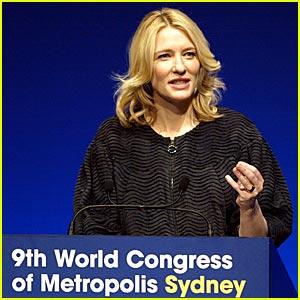 Cate Blanchett Opens World Congress of Metropolis