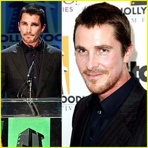 Christian Bale is a Proud Presenter