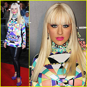 Christina Aguilera is Kaleidoscope Cute