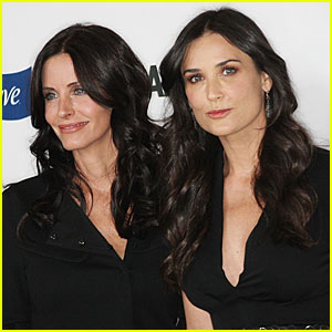 Courteney Cox and Demi Moore's