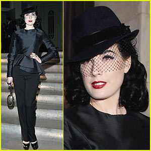 Dita Von Teese is Yves Saint Laurent Lovely