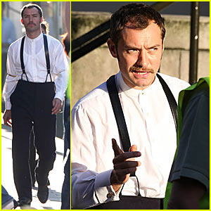 Jude Law as Dr. Watson -- FIRST LOOK