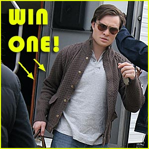 Win Ed Westwick's Cloth & Logic Sweater