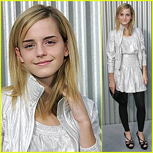 Emma Watson is Chanel Chic