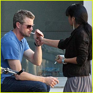 "Grey's Anatomy hunk Eric Dane , aka Dr. Mark ""McSteamy ..."