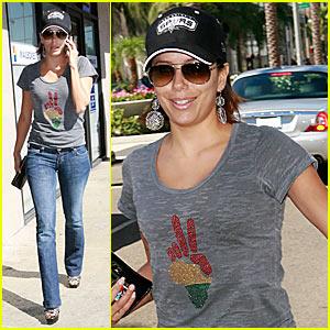Win Eva Longoria's OmniPeace T-Shirt!
