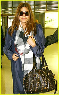 Eva Mendes is a Burberry Babe