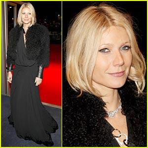 Gwyneth Paltrow Hits London Film Festival