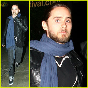 Jared Leto Goes Glamour