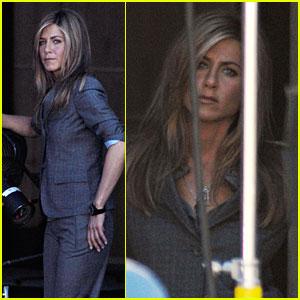 Jennifer Aniston's Slick Suit