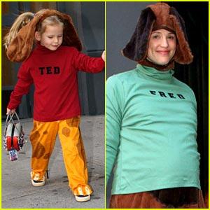Jennifer & Violet are Ted & Fred
