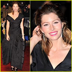 Jessica Biel: Windy in the West End