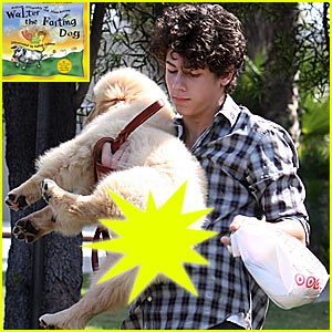 The Jonas Brothers and the Farting Dog