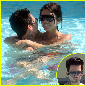 Audrina Patridge Wraps Around Josh Christopher