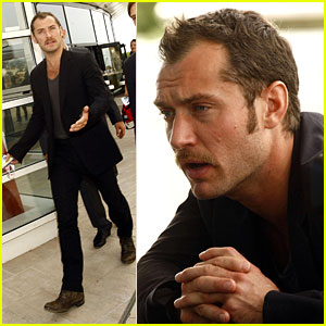 Jude Law is an Audio and Visual Person