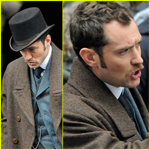 Jude Law is Dr. John Watson