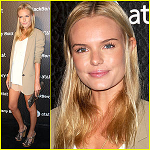 Kate Bosworth Launches Blackberry Bold
