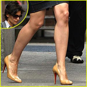 Katie Holmes Bares Legs