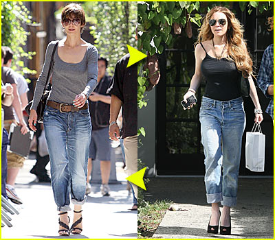 Fashion Faceoff: Rolled-Up Jeans