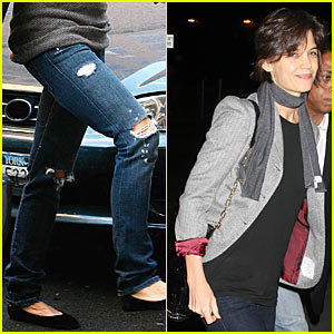 Katie Holmes: Ripped Jeans Are In Again!