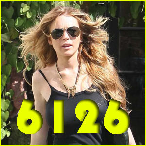 Lindsay Lohan Launches 6126 Clothing Line