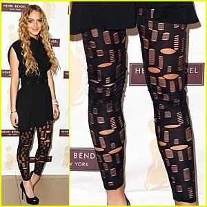 Lindsay Lohan: Leggings Gone Wild!