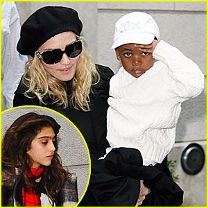Madonna and the Kabbalah Kids
