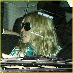 Madonna Post-Divorce Announcement -- FIRST PICS