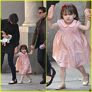 Suri Cruise Means Business