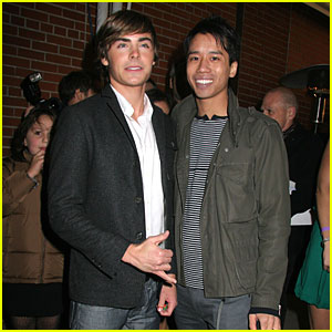 Zac Efron & Just Jared: Shaka!