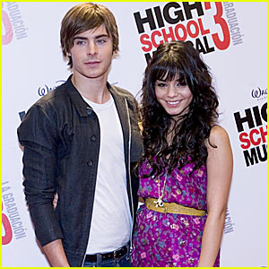 Zac & Vanessa Bring 'High School Musical 3' To Mexico