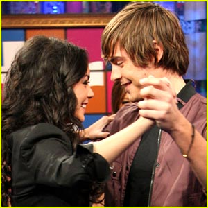 Zac Efron & Vanessa Hudgens Do The Waltz