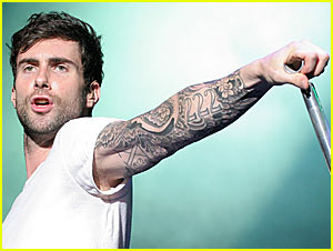 Adam Levine Throws Halloween Bash