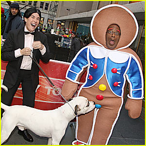 Gingerbread Man Al Roker Gets Sniffed Out