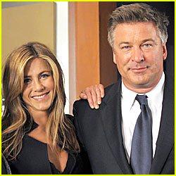 Alec Baldwin: Kissing Jennifer Aniston Was The Greatest Day Of My Life