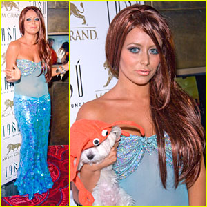 Aubrey O'Day is The Little Mermaid