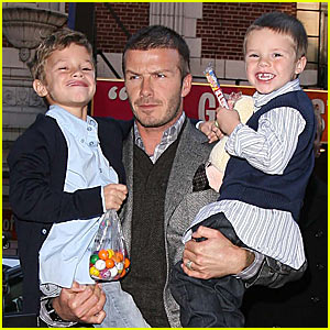 The Beckhams Hit Dylan's Candy Bar
