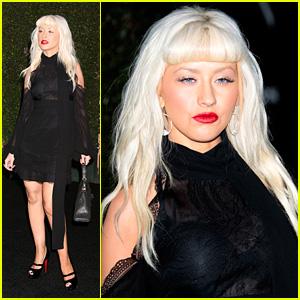 Christina Aguilera is a Bright Beautylight