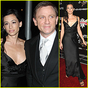 Daniel Craig Bonds at NYC Benefit